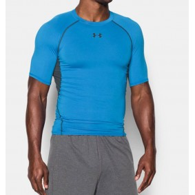 Thermokleding - kopen - Under Armour HeatGear Armour Compression SS – Blue