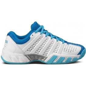 Junior tennisschoenen - K-Swiss sportschoenen - K-Swiss tennisschoenen - Merk sportschoenen - Sportschoenen aanbiedingen - Tennis sportschoenen - Tennisschoenen outlet - kopen - K-Swiss Bigshot Light 2.5 Omni Jr (Aktie)