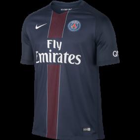 Paris Saint Germain voetbalshirt & outfit - Voetbalshirt & outfit - kopen - Nike Paris Saint-Germain Wedstrijdshirt Thuis 16/17 Sr.