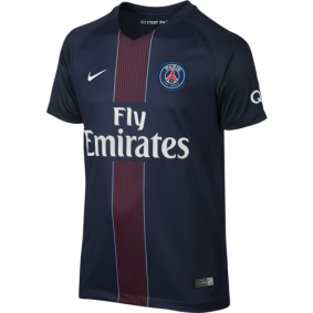 Paris Saint Germain voetbalshirt & outfit - Voetbalshirt & outfit - kopen - Nike Paris Saint-Germain Wedstrijdshirt Thuis 16/17 Jr.