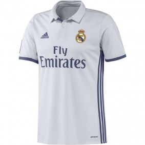 Real Madrid voetbalshirt & outfit - Voetbalshirt & outfit - Voetbalshirt Adidas - kopen - Adidas Real Madrid Wedstrijdshirt Thuis 16/17 Junior