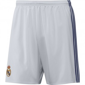 Real Madrid voetbalshirt & outfit - Voetbalbroekjes - Voetbalshirt & outfit - kopen - Adidas Real Madrid Wedstrijdshort Thuis 16/17 Junior