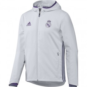 Real Madrid voetbalshirt & outfit - Trainingsjas - Voetbalshirt & outfit - kopen - Adidas Real Madrid Jacket Pre-Match 16/17 Senior