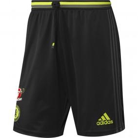 Chelsea voetbalshirt & outfit - Voetbalbroekje - Voetbalshirt & outfit - Voetbalshirt & outfit - kopen - Adidas Chelsea Trainingsshort 16/17 Senior