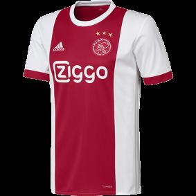 Adidas Voetbalshirt - Ajax voetbalshirt & tenues - Ajax voetbalshirts - Voetbalshirt & outfit - Voetbalshirt & outfit - Voetbalshirt Adidas - Ajax voetbalshirt & tenues - kopen - Adidas Ajax Wedstrijdshirt Thuis 17/18 Senior
