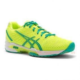 Asics sportschoenen - Asics tennisschoenen - Dames tennisschoenen - Merk sportschoenen - Senior schoenen - Tennis sportschoenen - Tennisschoenen outlet - kopen - Asics Gel-Solution Speed 2 W (Aktie)