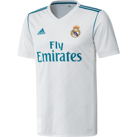 Real Madrid voetbalshirt & outfit - Voetbalshirt & outfit - Voetbalshirt & outfit - Real Madrid voetbalshirt & outfit - kopen - Adidas Real Madrid Wedstrijdshirt Thuis 17/18 Junior