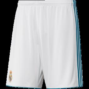Real Madrid voetbalshirt & outfit - Voetbalshirt & outfit - Voetbalshirt & outfit - Real Madrid voetbalshirt & outfit - Voetbalbroekjes Adidas - kopen - Adidas Real Madrid Wedstrijdshort Thuis 17/18 Junior