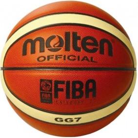 Accessoires - Allerlei ballen - kopen - Molten Basketbal Gg Oranje Maat 7