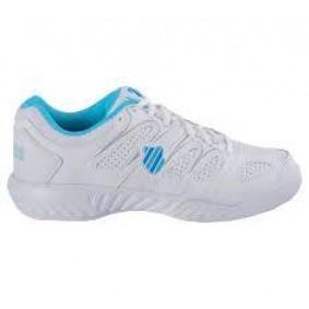 Dames tennisschoenen - K-Swiss sportschoenen - K-Swiss tennisschoenen - Merk sportschoenen - Sportschoenen aanbiedingen - Tennis sportschoenen - Tennisschoenen outlet - kopen - K-Swiss Calabasas Omni Lady (Aktie)
