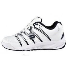 Junior tennisschoenen - K-Swiss sportschoenen - K-Swiss tennisschoenen - Merk sportschoenen - Sportschoenen aanbiedingen - Tennis sportschoenen - Tennisschoenen outlet - kopen - K-Swiss Optim Omni Jr. (Aktie)