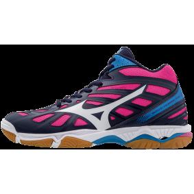 Indoor sportschoenen - Merk sportschoenen - Mizuno indoorschoenen - Mizuno sportschoenen - Volleybalschoenen dames - Indoorschoenen dames - kopen - Mizuno Wave Hurricane 3 MID
