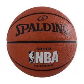 Accessoires - Allerlei ballen - kopen - Spalding NBA Silver Outdoor Basketball
