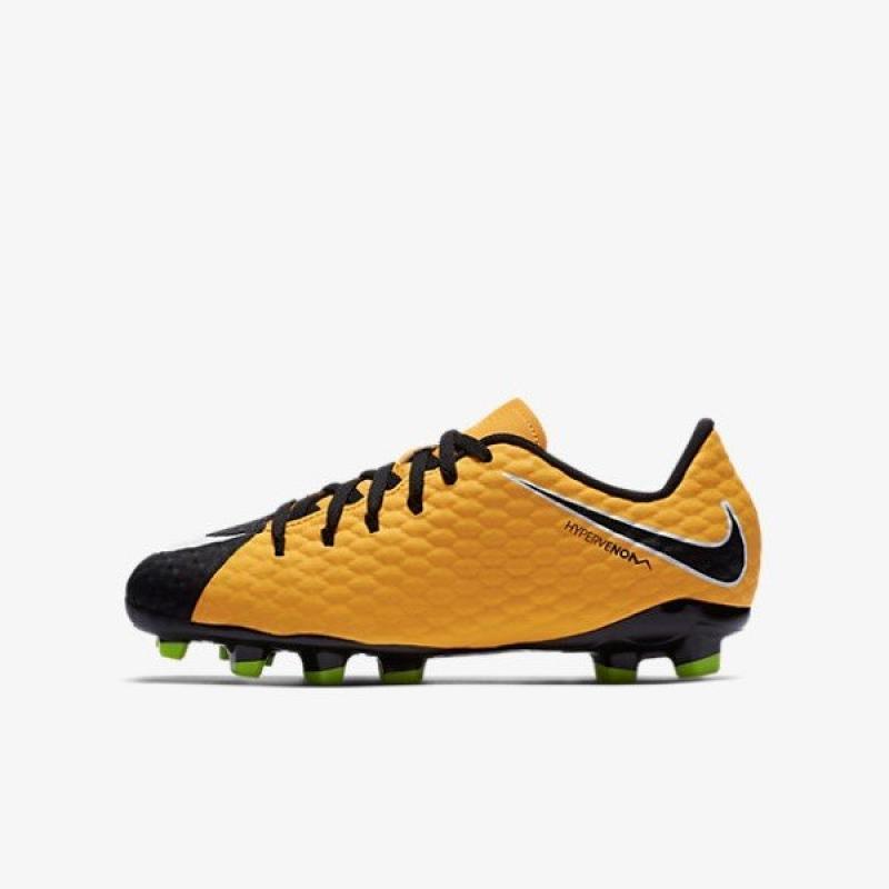 Nike - Venin Hyper Phelon Iii Fg Jr Football - Unisexe - Chaussures - Noir - 37.5 pBbicF