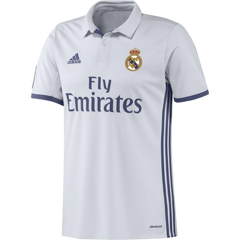 - Adidas Real Madrid Wedstrijdshirt Thuis 16/17 Junior