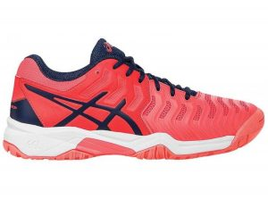 Asics Gel-Resolution 7 GS Roze online kopen