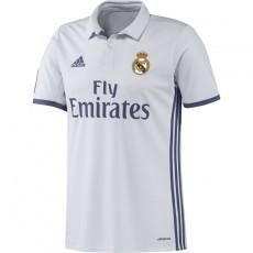 Het Adidas Real Madrid Wedstrijdshirt Thuis 16/17 Senior is afkomstig uit de officiële collectie van 'Los Blancos' voor het seizoen 2016/2017.