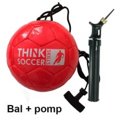 ThinkSoccerSkills startset Red Edition Deluxe incl. ballenpomp