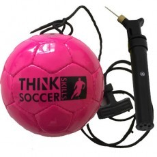 ThinkSoccerSkills startset Pink Edition Deluxe incl. ballenpomp